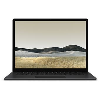 Computador Portátil Microsoft Surface Laptop 3 15'' - Preto - AMD Ryzen Surface Edition | 256GB | 8GB