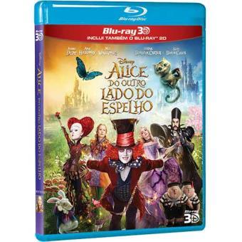Alice do Outro Lado do Espelho (Blu-ray 3D + 2D)