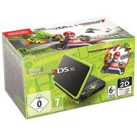New Nintendo 2DS XL Preto + Verde Lima + Mario Kart 7 (pré-instalado)