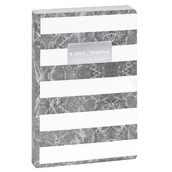 Caderno Pontilhado Marmore Bolso