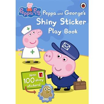 Peppa and george s shiny sticker pl