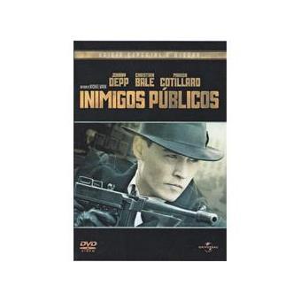 Inimigos Públicos - Edição Especial - DVD