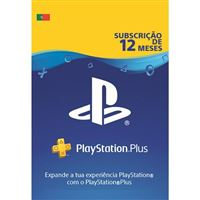 Playstation Plus 12 Meses - Cartão Digital