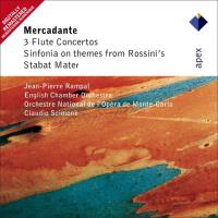 Mercadente: Three Flute Concertos, Sinfonia On Themes From Rossini's & Stabat Mater - CD