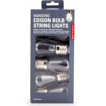 Lampadas LED Mini com Fio Edison - 10 Unidades