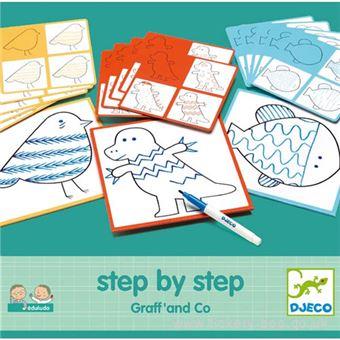 Desenhar Passo-a-Passo Graff and Co - Djeco