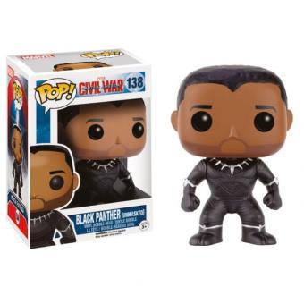 Funko: Iron Man 3 - Black Panther Unmasked - 138
