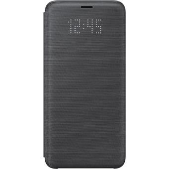Capa Samsung Led View para Galaxy S9 - Preto