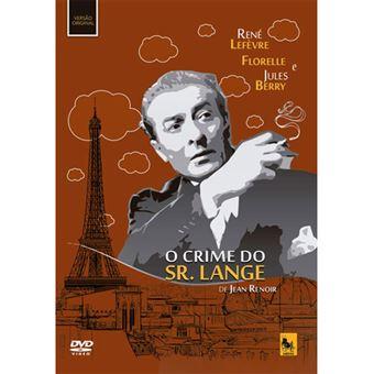 O Crime do Sr. Lange - DVD