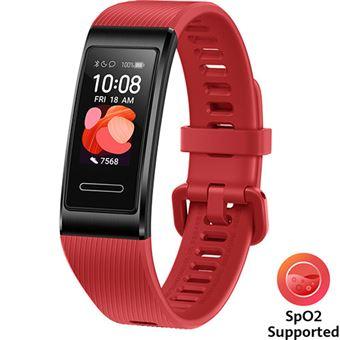 Pulseira de Atividade Huawei Band 4 Pro - Cinnabar Red