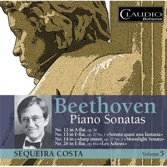 Beethoven: Piano Sonatas Vol 5 - CD