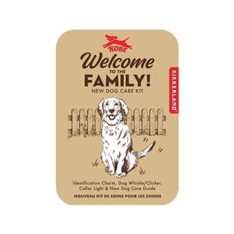Kit para Cães Kikkerland  - Welcome to The Family!