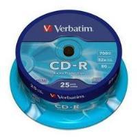 Verbatim CD-R 700MB 52x Cake 25uni