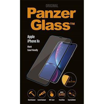 Película Ecrã Vidro Temperado Panzerglass Case Friendly para iPhone XR - Preto