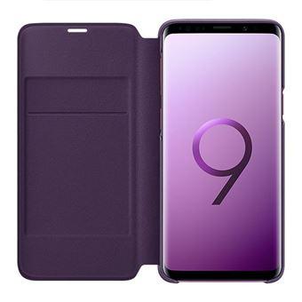 Capa Samsung Led View para Galaxy S9 - Púrpura