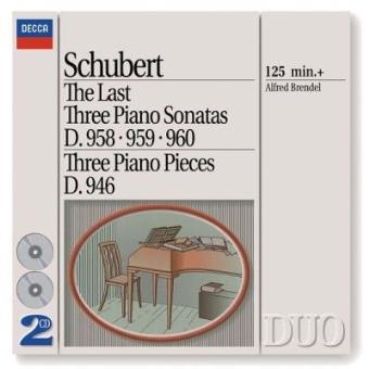 Schubert | Last 3 Piano Sonatas (2CD)