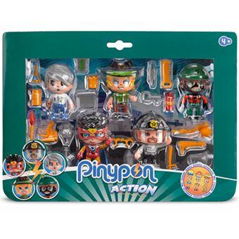 Pinypon Rapaz Pack 5 Figuras - Famosa