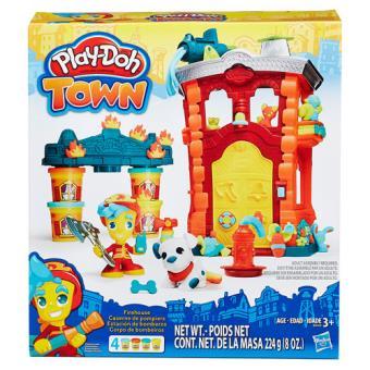 Play-Doh Town Estação de Bombeiros Hasbro