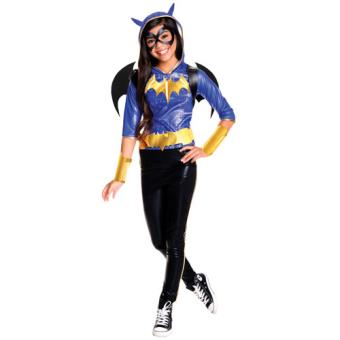 Disfarce Batgirl - Tamanho L 8 a 10 Anos