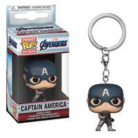 Funko Pop! Porta-Chaves Avengers Endgame: Captain America