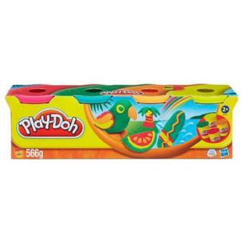 Play-Doh Pack de 4 Potes (Sortido)
