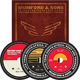 Mumford & Sons: Live In South Africa - Dust And Thunder (Limited Deluxe Edition)(2DVD+CD)