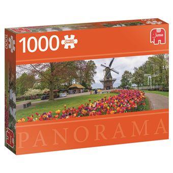 Puzzle De Keukenhof Holland - 1000 Peças