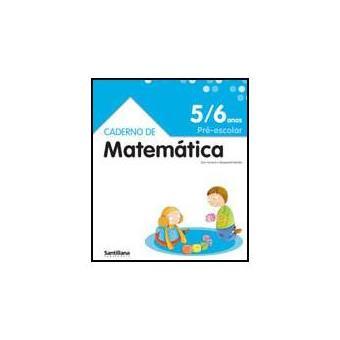 Caderno De Matemática 5-6 Anos - Pré-Escolar