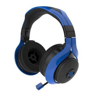 Gioteck FL300 Auscultadores Stereo c/ Fio e Altifalantes Bluetooth (Blue) PS4