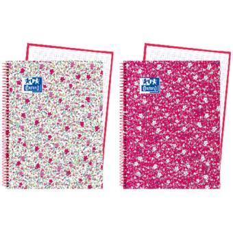 Caderno Pautado Oxford Floral A4 - Envio Aleatório