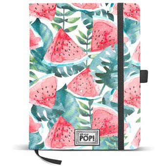 Caderno Liso Oh My Pop! - Watermelon A5