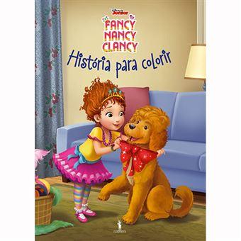 Fancy Nancy Clancy: História para Colorir