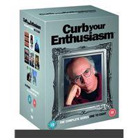 CURB YOUR ENTHUSIASM 1-8 (17DVD) (I