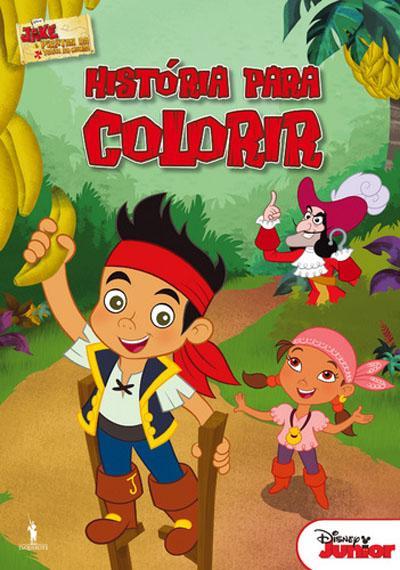 jake e os piratas história para colorir disney compra livros