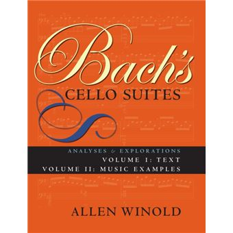 Bach's cello suites, volumes 1 and