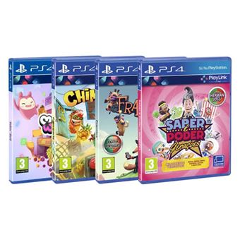 Pack Playlink - Saber é Poder: Gerações + Chimparty + Melbits + Frantics - PS4