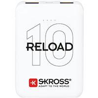 Power Bank Skross Reload 10 10000mAh - Branco