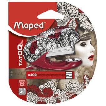 Agrafador Maped Mini Tattoo Nº 26-6 + 400 Agrafos