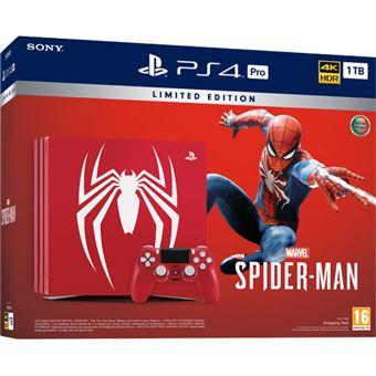 Consola Sony PS4 Pro 1TB Spider-Man Edição Limitada