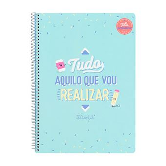 Caderno Mr. Wonderful - Tudo Aquilo Que Vou Realizar