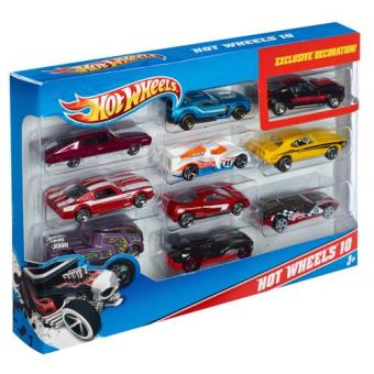 Pack Sortido Hot Wheels - 10 Veículos