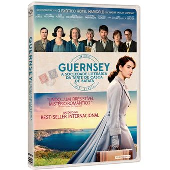 Guernsey: A Sociedade Literária da Tarte de Casca de Batata - DVD