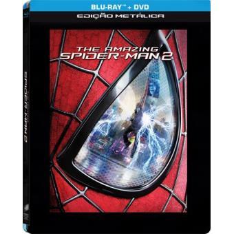 O Fantástico Homem-Aranha 2: O Poder de Electro (Blu-ray + DVD) Steelbox