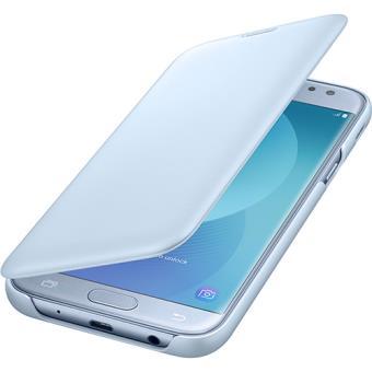 Capa Flip Samsung Wallet para Galaxy J5 2017 - Azul