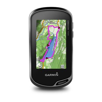 Garmin Oregon 750t localizador GPS Pesoal Preto 4 GB
