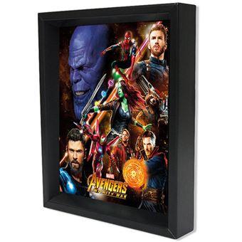 Poster 3D Lenticular Avengers Infinity War United