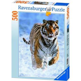 Puzzle Tigre no Inverno - 500 Peças