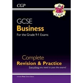 New gcse business complete revision