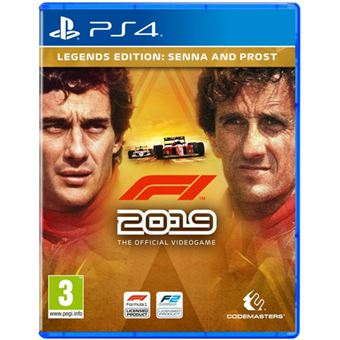 F1 2019 - Legends Edition: Senna & Prost - PS4