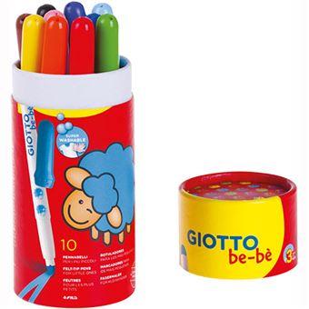 Marcadores Giotto Be-Bè Fila - 10 Unidades